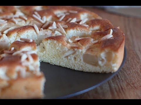 gâteau-aux-pommes-sans-beurre-avec-4-ingrédients-seulement-!