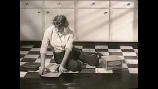 1950's Ad for Kentile Asbestos Floor Tiles