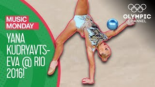 Yana Kudryavtseva's iconic Rhythmic Gymnastics performance at Rio 2016 | Music Monday