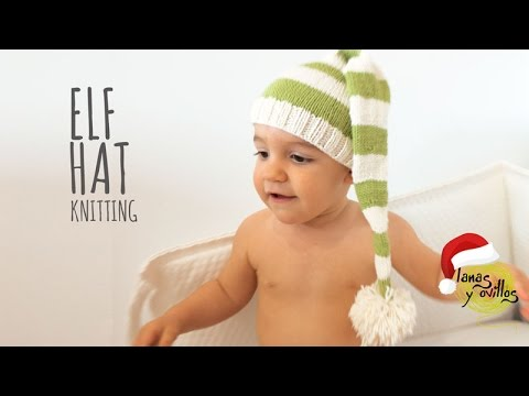 Tutorial Elf Knitting Hat Easy All Sizes Youtube