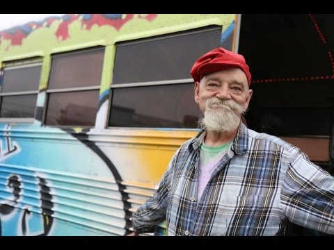 62yearold living in a bus: 'Living 'like a millionaire'