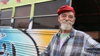 62-year-old living in a bus: 'Living 'like a millionaire'