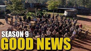 The Walking Dead Season 9 Good News - Good News For TWD Season 9 Cast