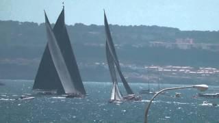 Super Yacht Cup Palma 2013 J Class, Hanuman, Velsheda, Ranger, Rainbow