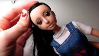 OOAK на китайской кукле. Просто пробы. Все еще в процессе обучения рисования)