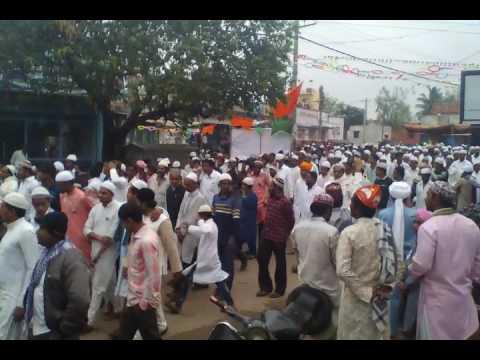 Juloose mohammadi EID Milad un Nabi 2016 celebration Ramanagaram Karnataka...