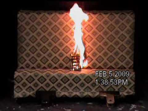 Download British Standard 5852 Crib 5 Burn Test