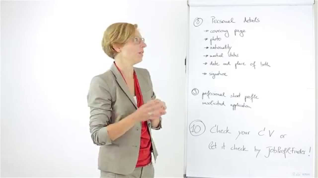 how to write a cv for german job market   tutorial for writing a cv for german job market