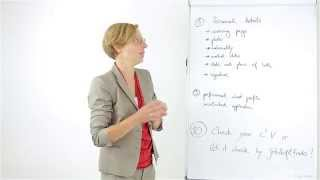 How to write a cv for german job market ? tutorial for writing a cv for german job market