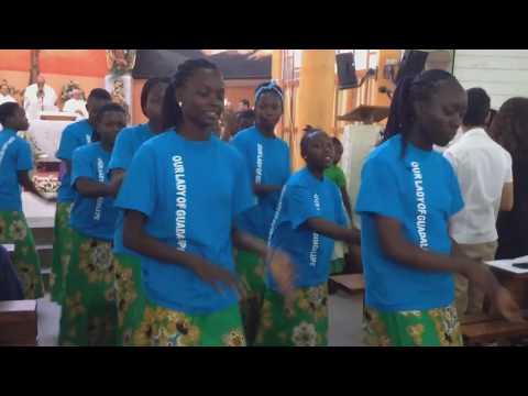 Así celebran a la Virgen de Guadalupe en África