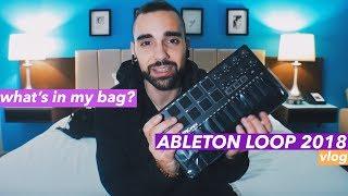 Producer Travel Bag, New Gear, & Flying to LA!   ABLETON LOOP VLOG