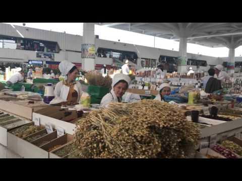 ► Great Market in Ashgabat Turkmenistan