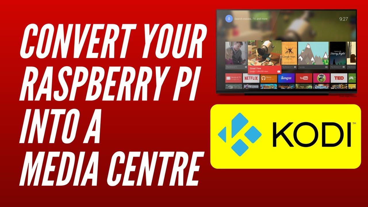 Raspberry pi kodi media center | The Only Raspberry Pi 3