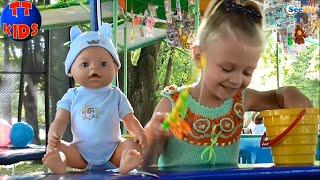✔ Baby Born. Прогулка с Куклой Бэби Борн. Walking with a doll. Oyuncak Bebek. Серия 38 ✔