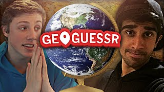 GEOGUESSR #4 with Vikkstar & Harry (GeoGuessr Challenge)