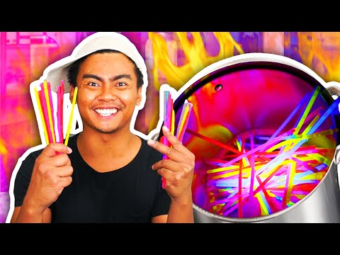 Thumbnail: Do Not Boil GLOW STICKS!!