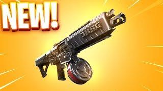 The New DRUM SHOTGUN in Fortnite..
