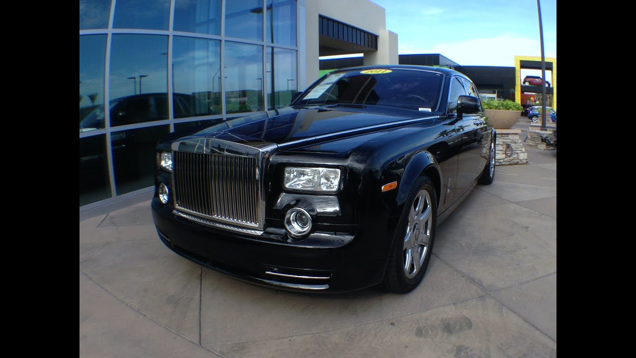 2011 Rolls Royce Phantom For Sale At Bentley Scottsdale Youtube