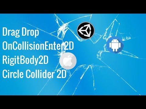 4. Unity Mobil Programlama: Sürükle Bırak Ve Temas, Drag Drop, OnCollisionEnter2D
