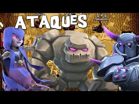 Atacando en guerra en directo | Ataques #48 | Descubriendo Clash Of Clans