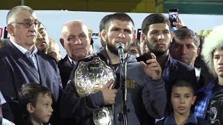 'I begged God for one thing – to leave me in the cage with this clown' Khabib