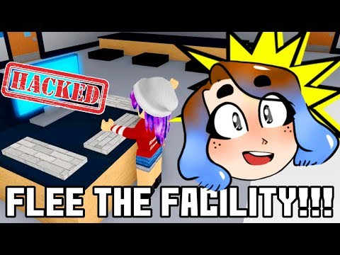 HACK THE COMPUTER & FLEE THE FACILITY IN ROBLOX!   RADIOJH GAMES