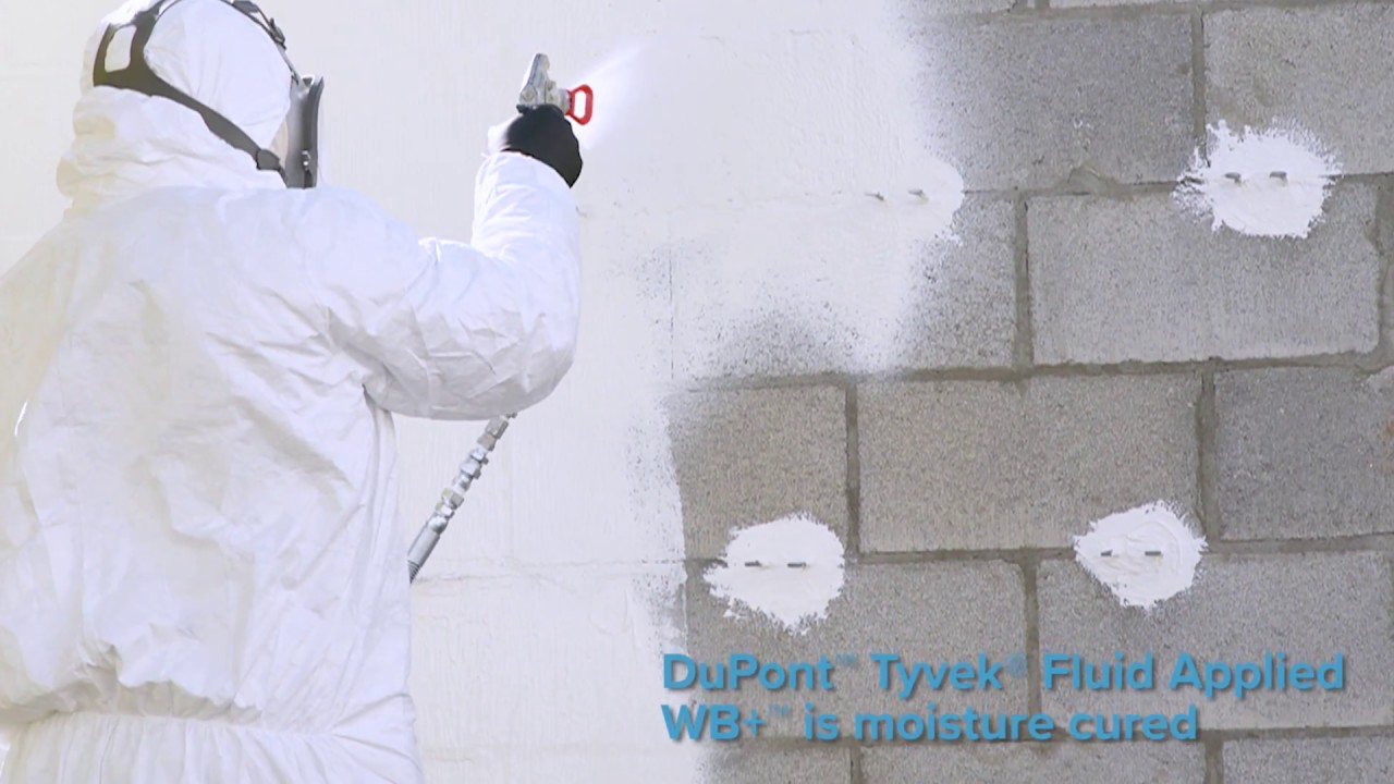 Introducing Dupont Tyvek Fluid Lied Wb Flashing And Joint Compound