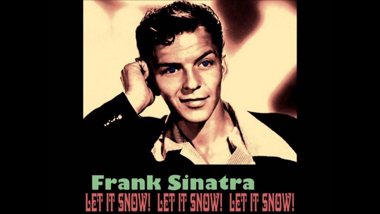 Frank Sinatra & The Swanson Quartet - Let it snow, Let it snow, Let it snow  (1950) - YouTube