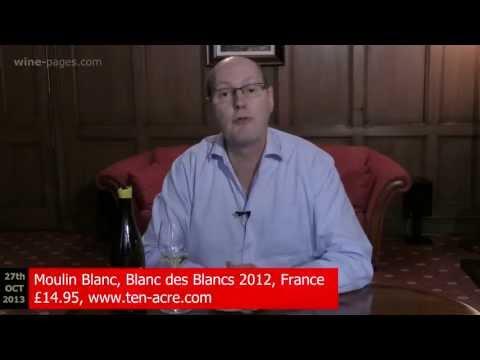 Moulin Blanc, Blanc de Blancs 2012, France, wine review