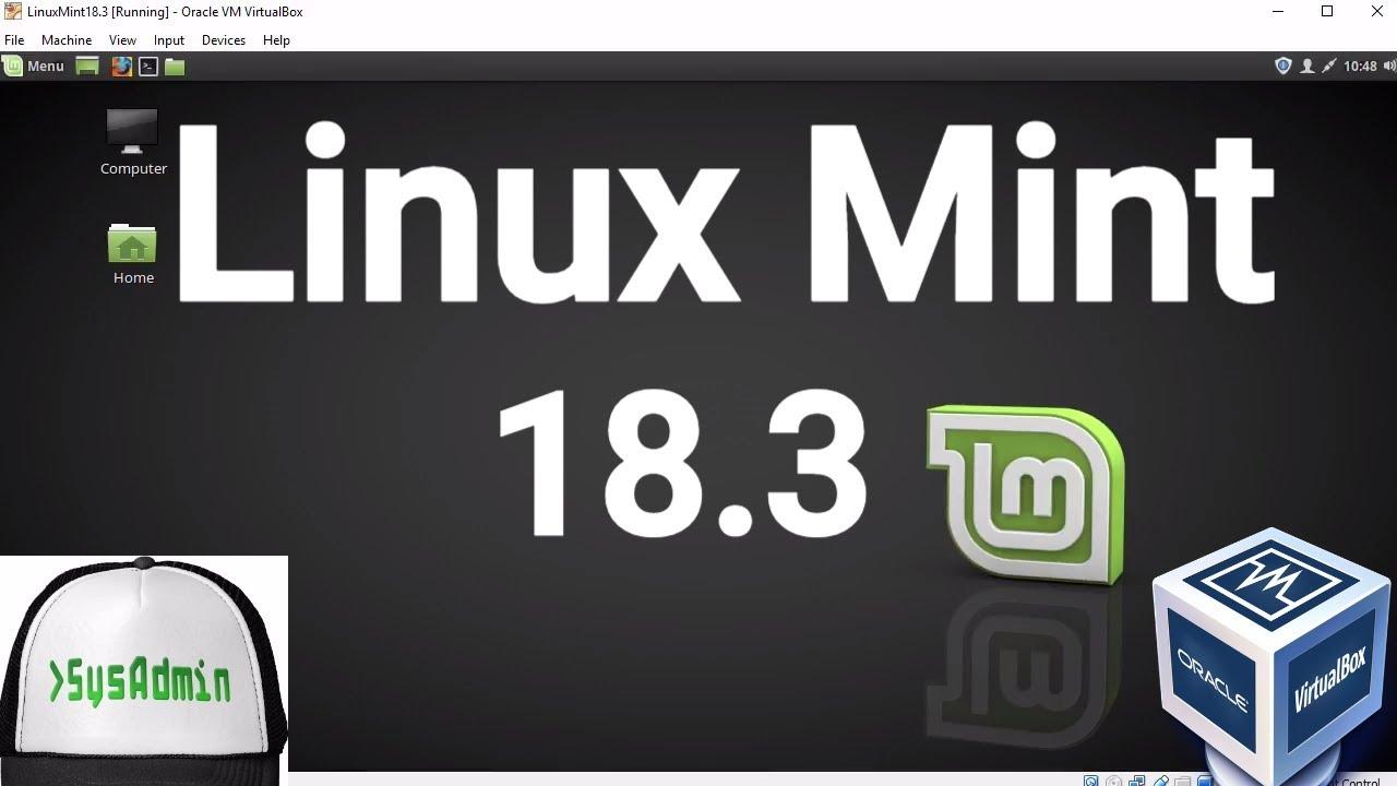 linux mint download virtualbox