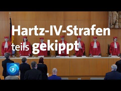 Hartz-IV-Sanktionen Sind Teilweise Verfassungswidrig