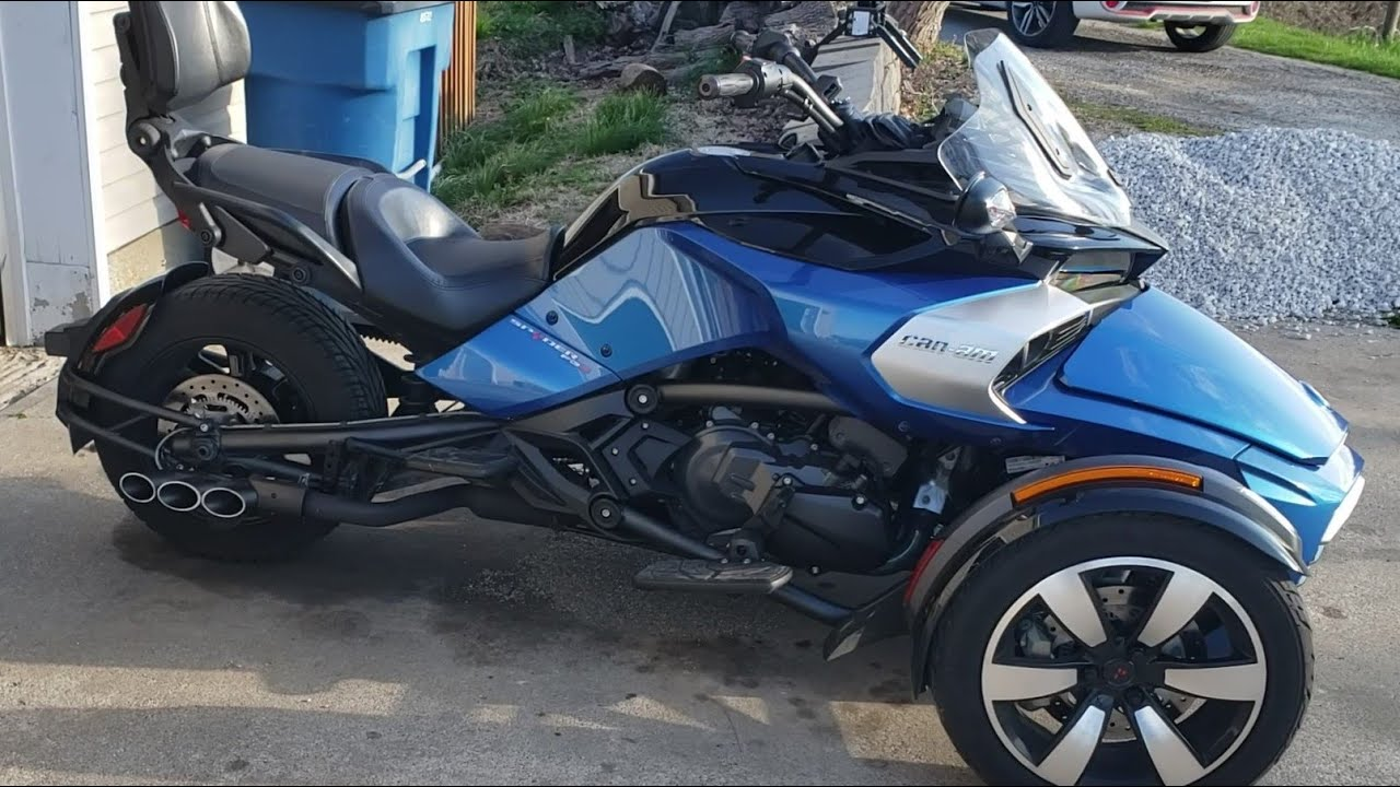 can am spyder f3s triple threat exhaust