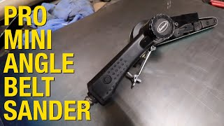 Pro Mini Angle Belt Sander - Adjustable Belt Sander You NEED! Eastwood