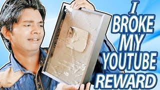 i Broke My Youtube Reward | Silver Play Button | Hindi Comedy Video | Pakau TV Channel