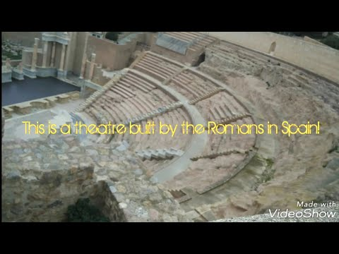 This a theatre built by the Romans in Spain!