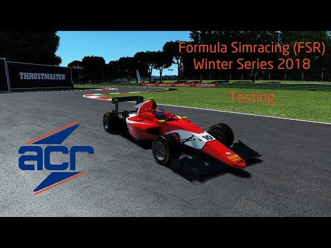 rFactor 2   Formula Simracing Winter Series 2018   Adelaide in the GP3 car   Installation Laps
