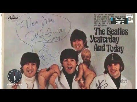 Álbum dos Beatles mais raro do mundo vai a leilão em novembro | SBT Notícias (31/10/17)