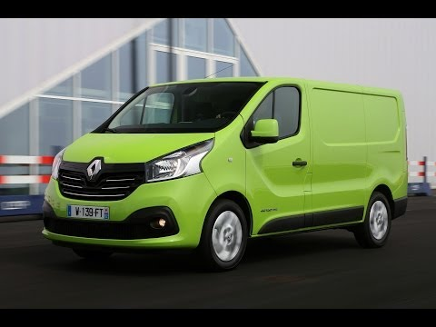 New Renault Trafic - A cabin designed to serve as a mobile office