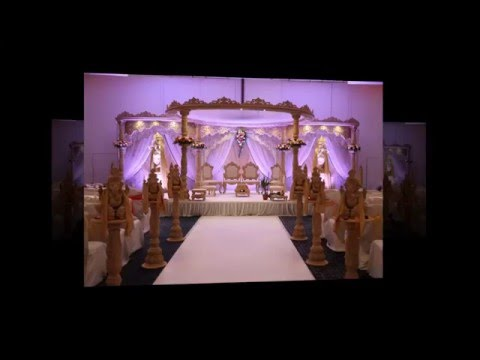 Hilton Terminal 5 Wedding Mandap & Decor