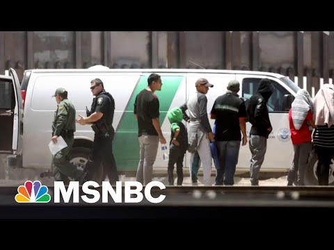 More Than 188,000 Migrants Were Picked Up At US-Mexico Border In June