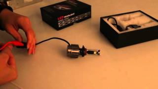 Car LED Headlight Kit Cree Fog External Led HeadlightsTail Parking Bulb