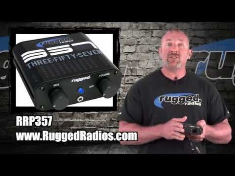 Rugged Radios RRP357 Sport Series Intercom