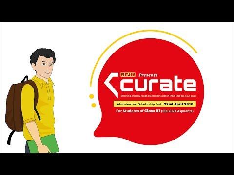 CURATE - Admission cum Scholarship Test