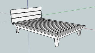"512 Platform Bed Build No. 1 The ""undercarriage"""