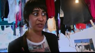 Mahlia Amatina talks about #80WashingLines on the BBC