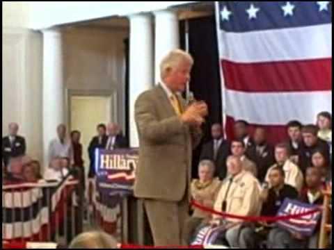 Bill Clinton Speaks About Economic Stimulus Programs