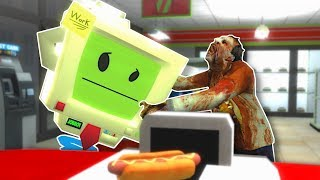 JOB SIMULATOR STORE OVERRUN BY ZOMBIES! - Garry's Mod Gameplay - Zombie Survival