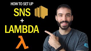AWS SNS to Lambda Tutorial in Python | Step by Step