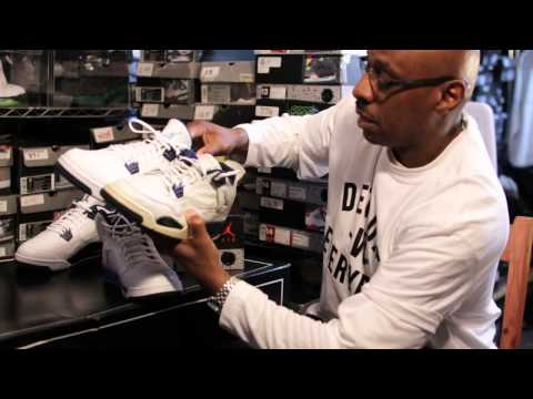 2015 Legend Blue and 1999 Columbia Blue Jordan 4 comparison video by @RomeGood