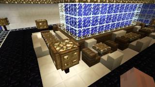 Burj Al Arab Dubai Underwater Restaurant-Minecraft